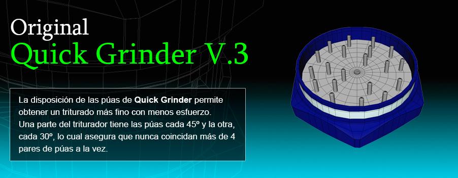 Quick Grinder Original - Grinders con expulsador